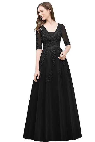 Amazon.com: Babyonlinedress – Vestido para mujer doble ...