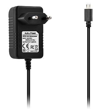 Aukru Micro USB 5V 2500mA Cargador Adaptador para Raspberry ...