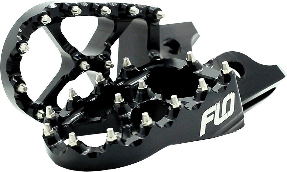 Flo Motorsports Pro Series Foot Peg - Black FPEG-798BLK