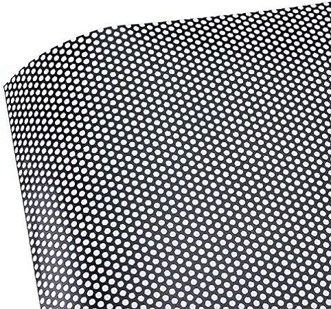 Folimac One Way Vision Folie Lochfolie Für Digitaldruck Sichtschutzfolie Schwarz 12 M 300cm X 107cm Auto