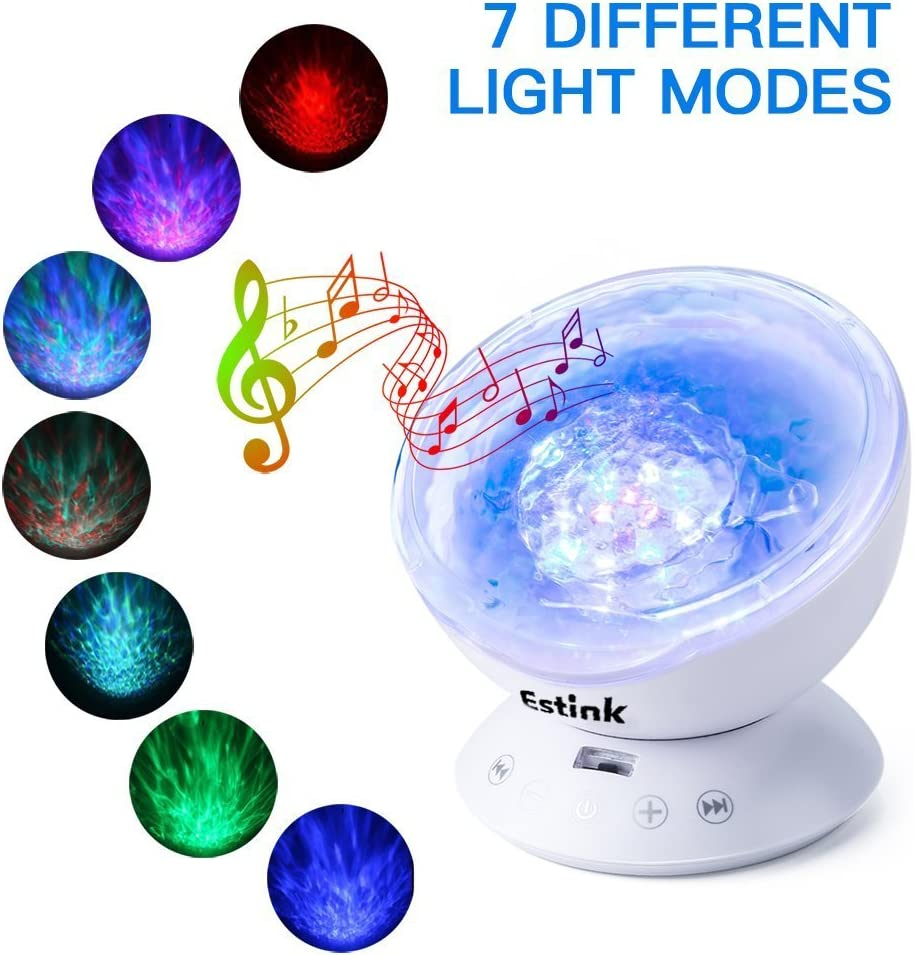 Lámpara de Proyector LED Proyector de Luz Océano Mando a Distancia ...