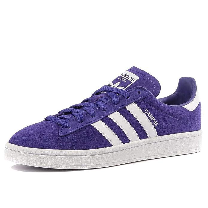 Adidas Campus Schuhe Herren lila (Tinene) mit weißen Streifen