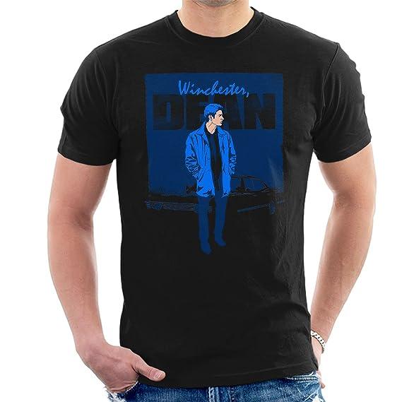 Dean Winchester Poster Supernatural Men S T Shirt Amazon Fr