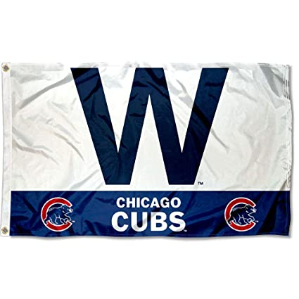 picture relating to Printable Cubs W Flag known as Cubs Gain \