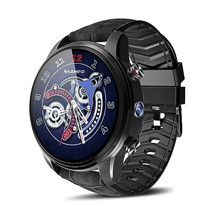 FSDRFRF Reloj Inteligente Smartwatch Hombres 1.39 Pulgadas 4G ...