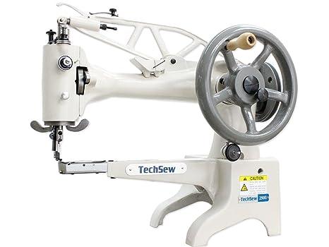 Amazon.com: techsew 2900 Cuero Patcher máquina de coser ...