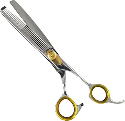 Sharf Gold Touch Pet Thinning Shears - Best Thinning Scissors for Dogs