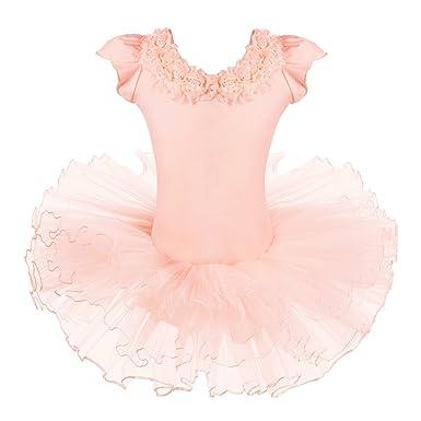 cc9237f13138 Amazon.com  BAOHULU Leotards for Girls Ballet Dance Tutu Skirted ...