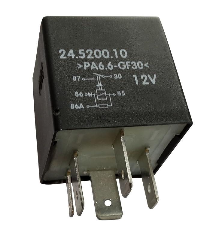 Aerzetix: Relais Motorsteuerung C40255 kompatibel mit 165906381 ...