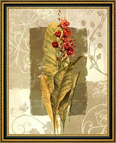 Canvas Iii Framed (Tropical Radiance III by Steve Butler - 17