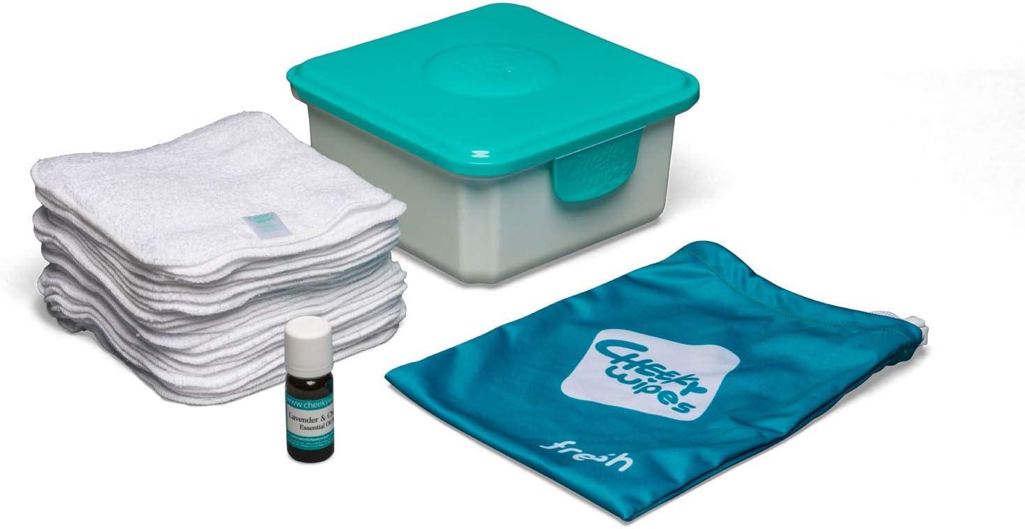 Cheeky Wipes - Mini kit para usuarios de pañal de tela: Amazon.es: Bebé