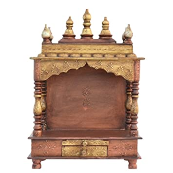 Wooden Temple/ Home Temple/ Pooja Mandir/ Pooja Mandap/ Temple For Home  JORD714