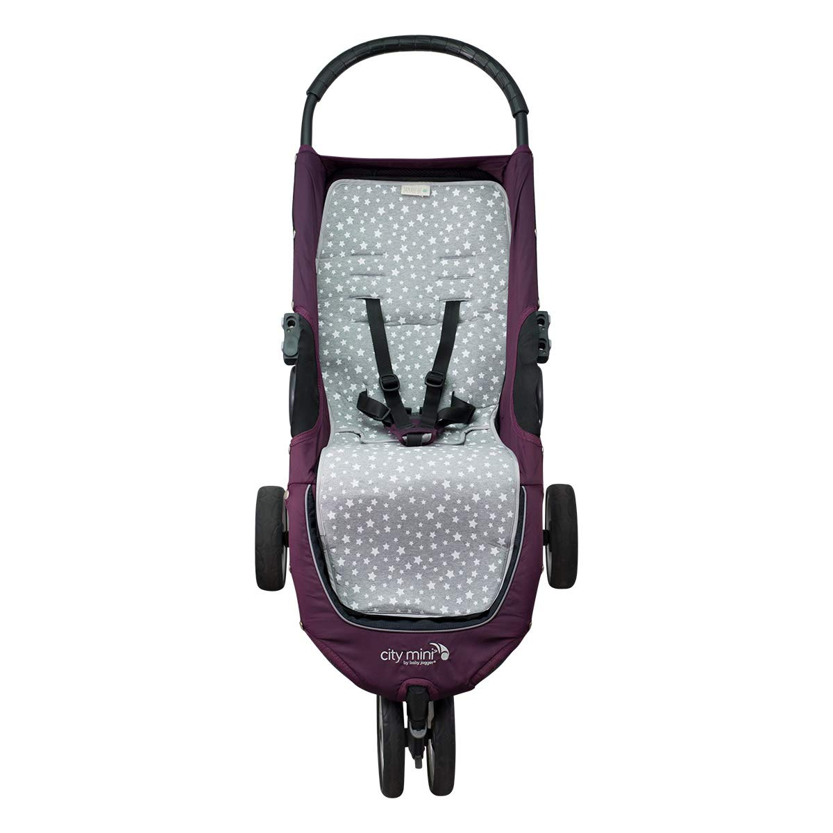 Janabebé Mat for Baby Jogger City Mini and Joolz (White Star)