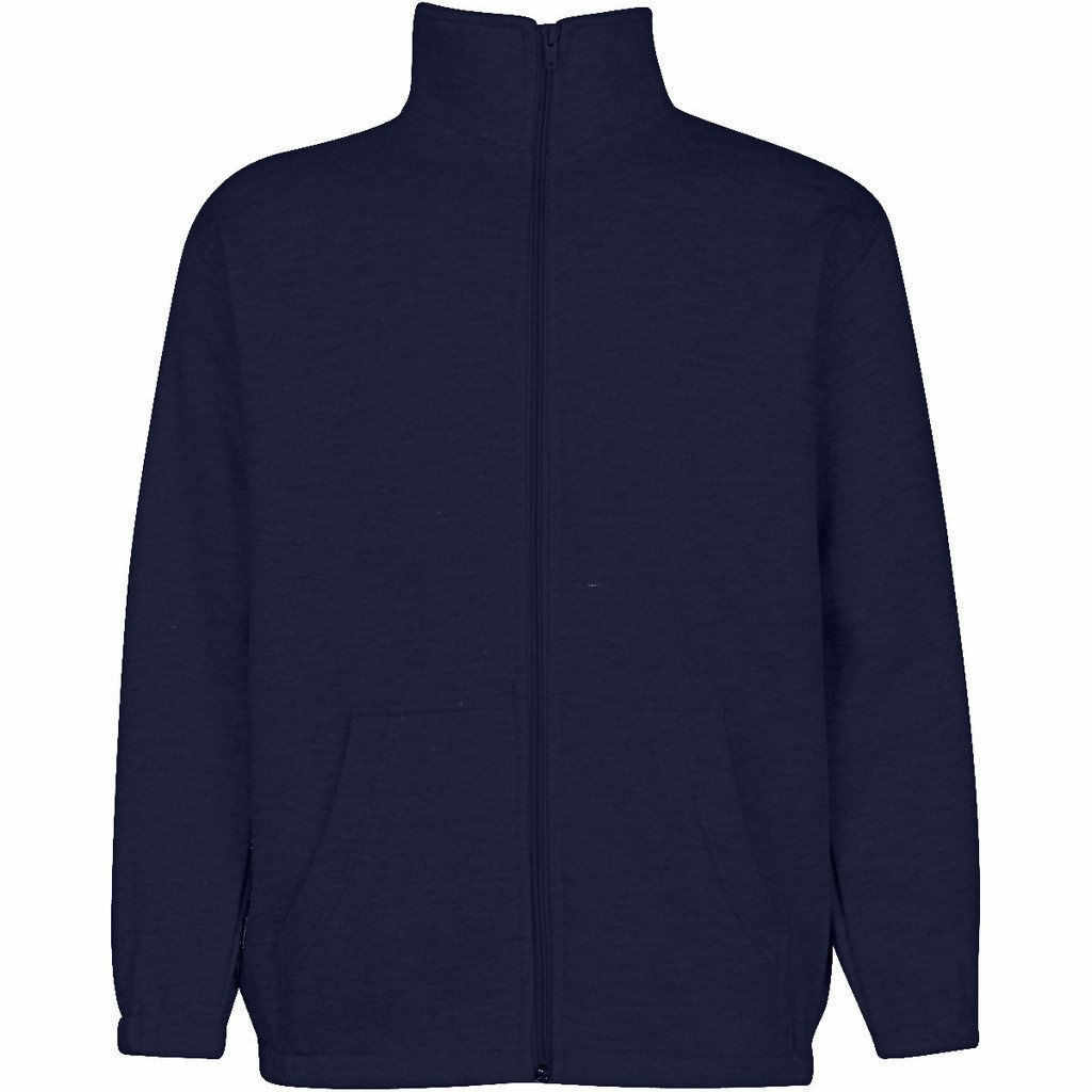 Premium Boys Full Zip Sweatshirts Stylish, Versatile & Comfortable Casual Wear, Navy, Size: 10/12 by Premium (Image #1)