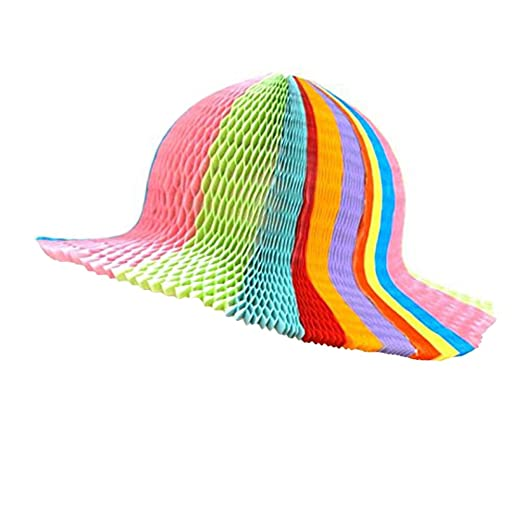 Amazon Tinksky Women Sun Hats Honeycomb Paper Origami Sun Cap