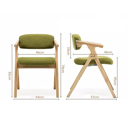 Amazon.com : Lounge Chairs Patio Seating Folding Chair Nordic Solid ...