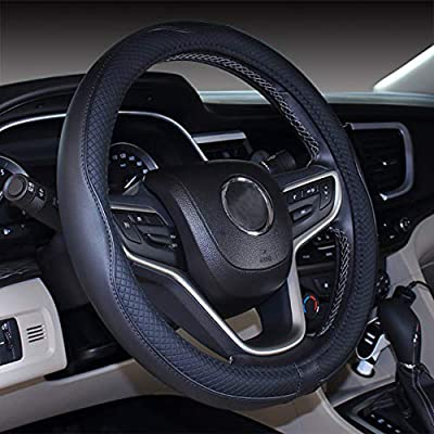 17 Steering wheel Cover for Big Trucks (17'', Black): Automotive