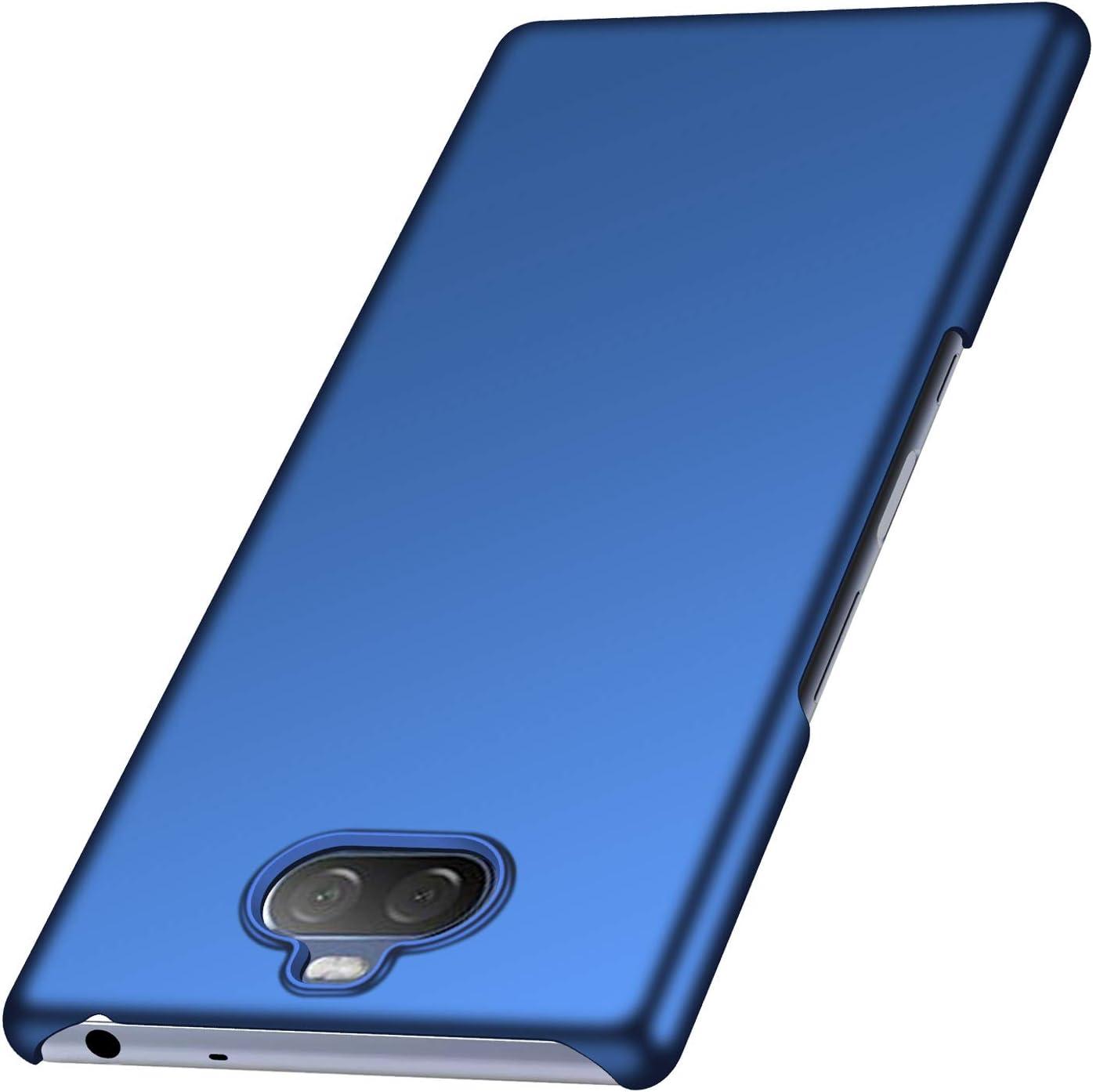 1SourceTek Compatible para Funda Sony Xperia 10 Estuche Protector para Celular Delgado Minimalista Protector Anti-Rasguño de Alta Calidad para Sony Xperia 10 (Azul Liso): Amazon.es: Belleza