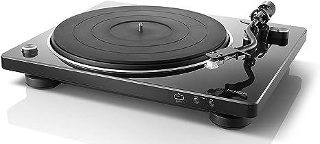 Denon DP-450 USB - Giradiscos con USB, Color Negro: Amazon.es ...