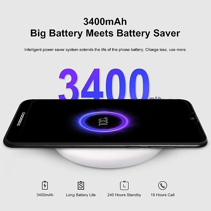 DOOGEE X90 Móviles Libres, Android 8.1 Smartphones Libres ...