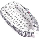 Eaarliyam Baby Recliner Pod Portable Detachable Breathable Comfortable Baby Cushion Pod with Hidden Zipper Pillow Newborn Rec