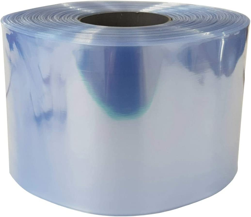Size:170 mm 2m Heat-shrinkable tubing 20mm to 200mm Lay Flat Width Choose Colour Colour:White