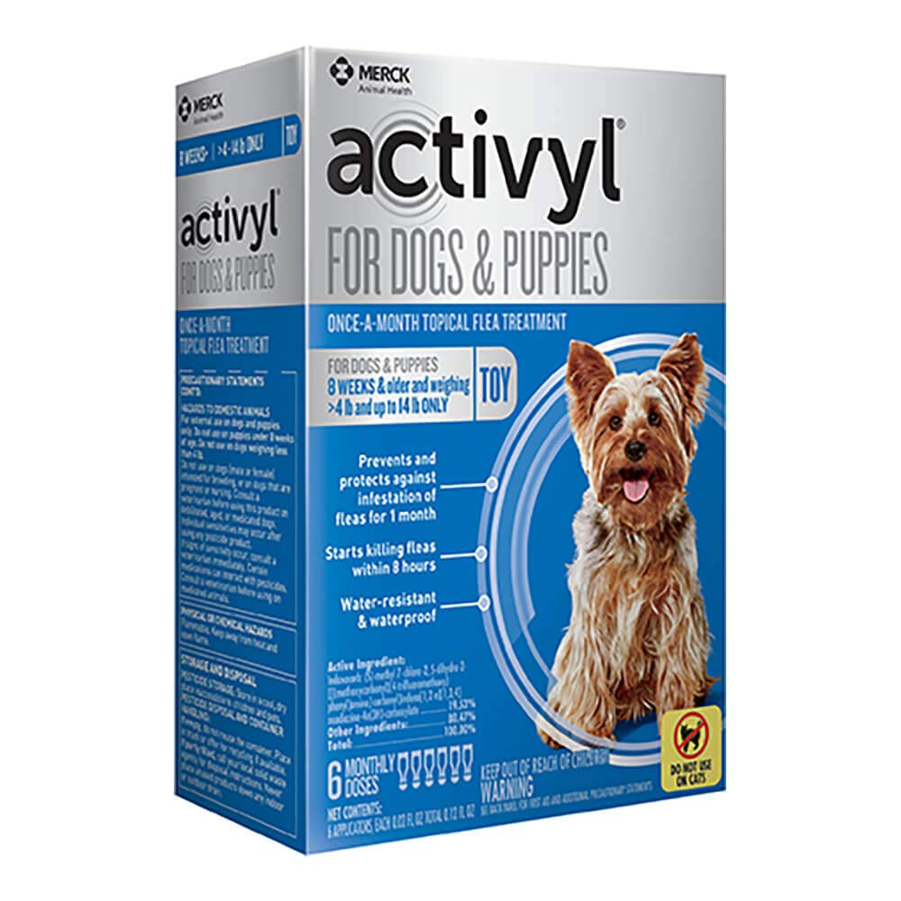 Activyl Toy Dogs & Puppies 4-14lbs, 6-pack by Activyl