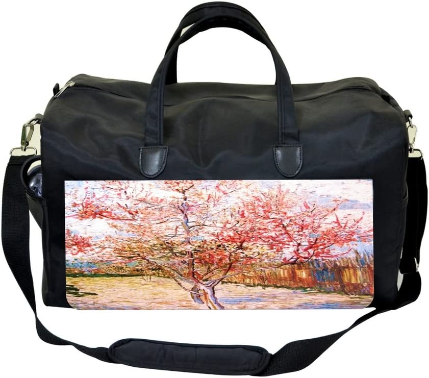 Vincent Van Gogh Peach Tree Sports Bag