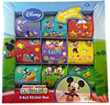 Mickey Mouse Clubhouse 9 Roll Sticker Box – Disney Sticker Kit