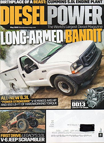 Diesel Power May 2016 The World's Largest Diesel Magazine BIRTHPLACE OF A BEAST: CUMMINS 5.0L ENGINE PLANT Long-Armed (Long Snapper)