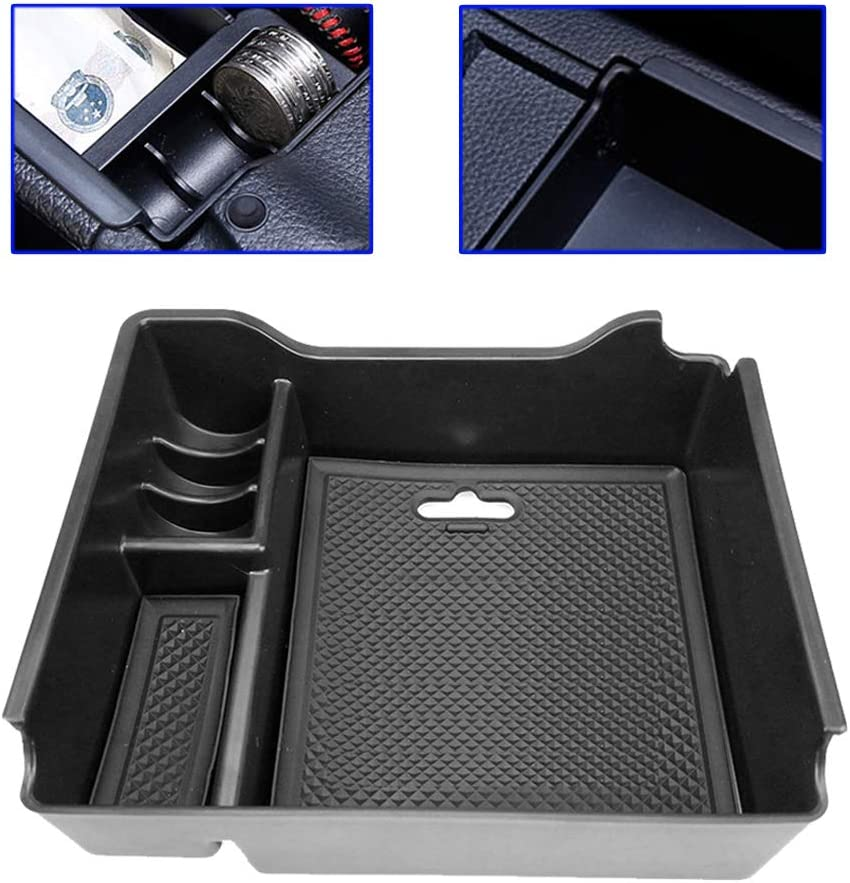Armrest Secondary Storage Box Central Console Glove Tray Center Console Insert Pallet For Nissan Sentra Pulsar Sylphy 2013 2014 2015 2016 2017 2018 2019 Car Organizer