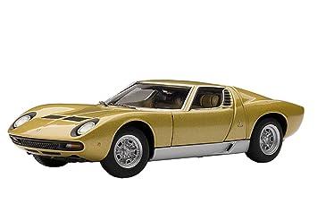 Lamborghini Miura Sv 1971 Gold 1 43 Amazon Co Uk Toys Games