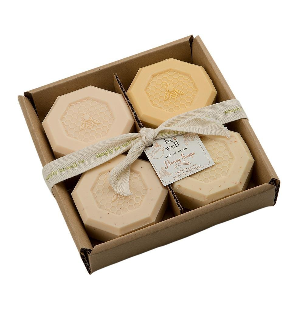 Set of Four Honey Soaps