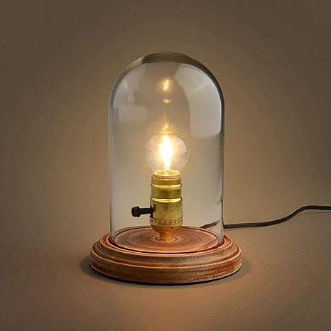 MOMO Lámpara de Mesa Vintage del desván de la lámpara de ...
