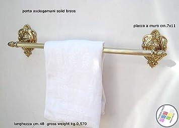 Fabris Uber Barra de Toalla Toallas cm.48 latón Estilo clásico decoración baño: Amazon.es: Hogar