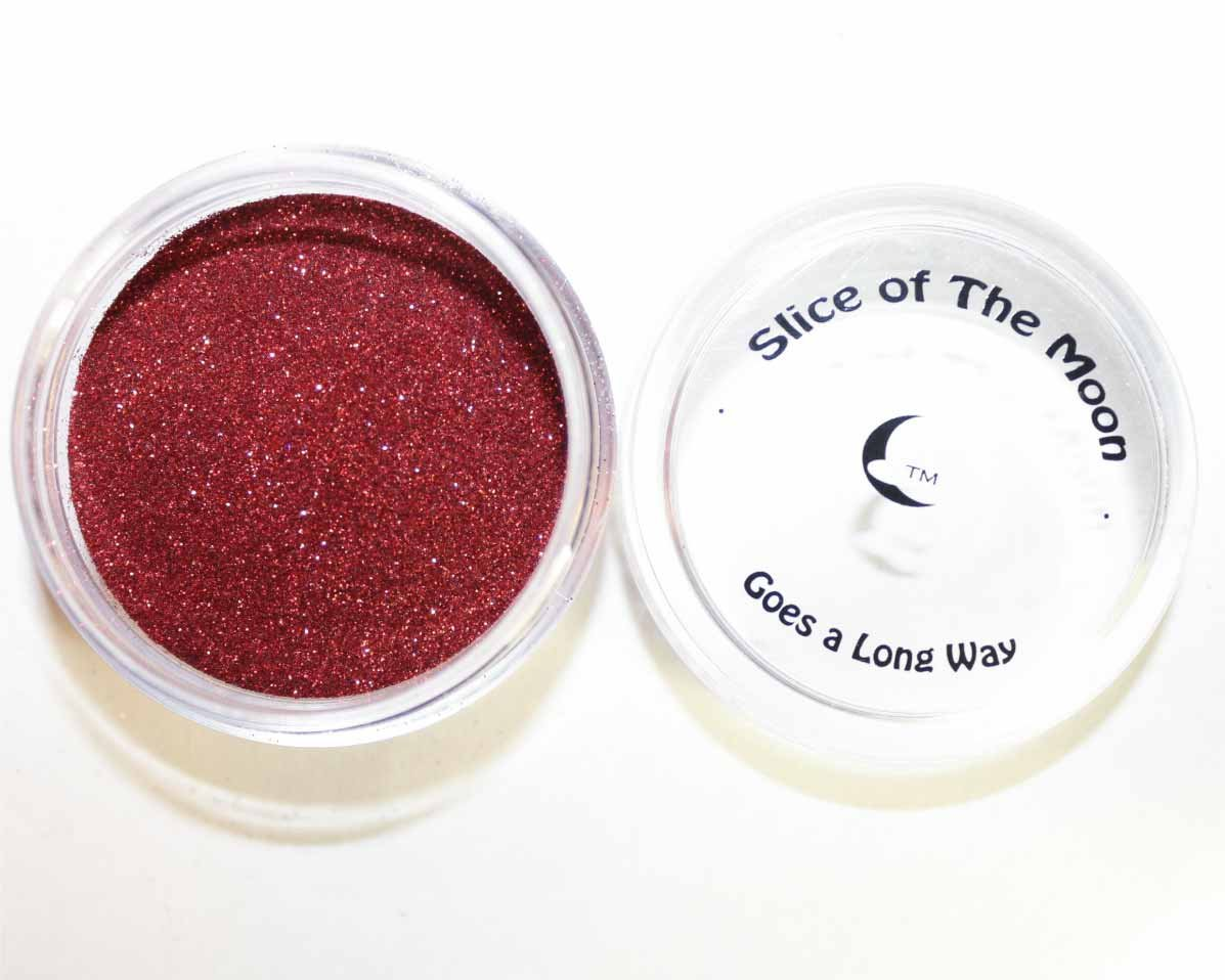 Red Glitter Powder 15g – Non-solvent Glitter Powder, Slice of the Moon