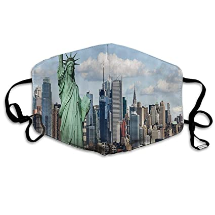 Amazon com: York Statue of Liberty in NYC 100% Cotton Mask