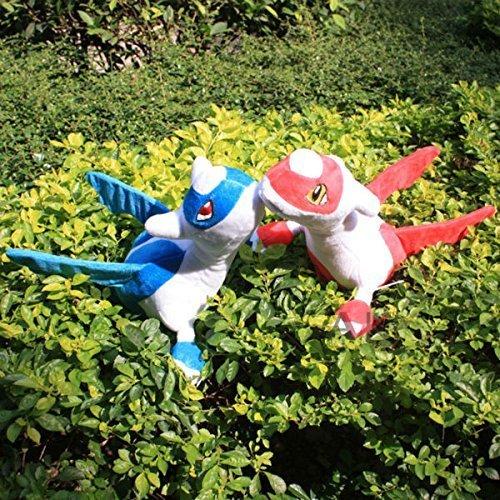 Pokemon Latias Latios 2pcs/set 30cm Soft Stuffed Plush Toy Doll Kids Gift