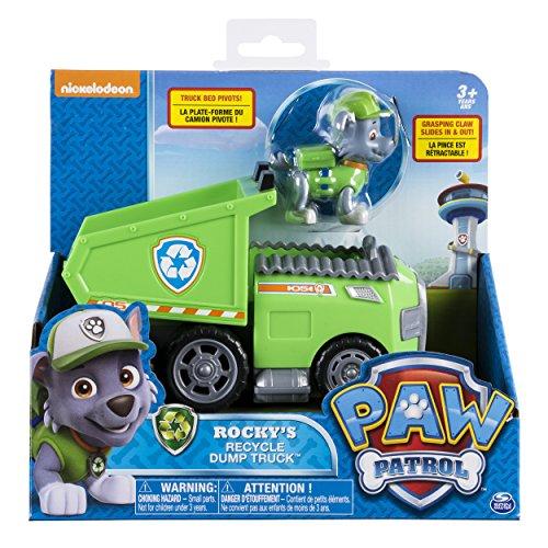 Paw Patrol – Rocky's Recycle Dump Truck Vehicle with Rocky Figure JungleDealsBlog.com