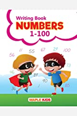 Numbers Writing Book 1-100 (Practice) Paperback
