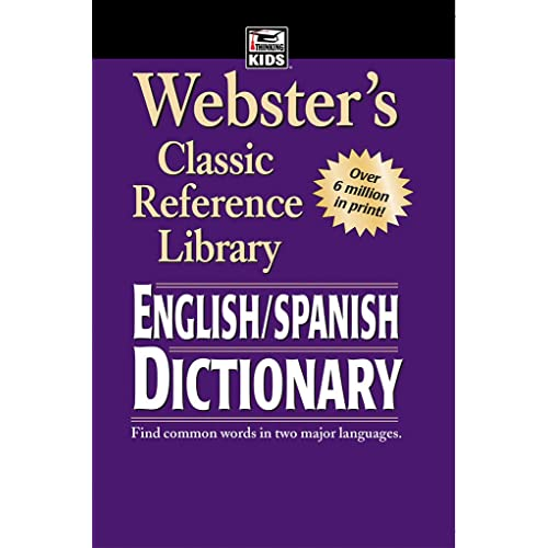Websters English SPANISH Dictionary