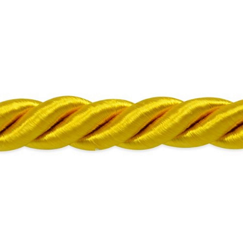 Brown 20-Yard Expo International Savannah 3//8-Inch Twisted Cord Trim
