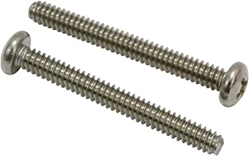 4-40 X 3//8 Slotted Binder Machine Screw Brass Package Qty 100