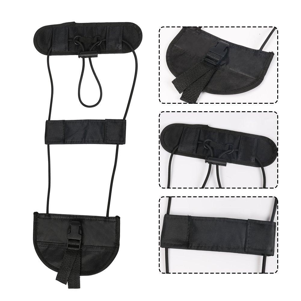 2pcs Bagaje Bungee,Cintur/ón de Equipaje Travel Bag Adjustable Embalaje Belt Suitcase Correas de Seguridad
