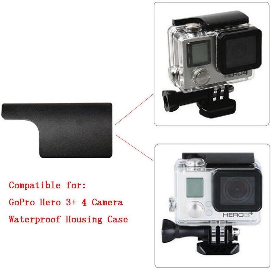 Meijunter Black Replacement CNC Aluminum Lock Buckle Mount Accessories for GoPro Hero 3 4 Camera Waterproof Case