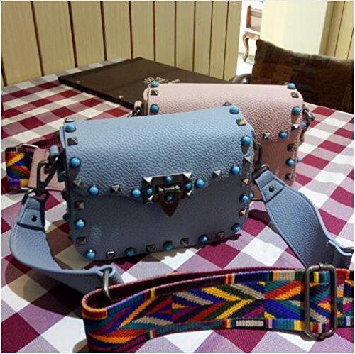 Mini Handbag 18x14x7CM Shoulder Colorful Brand Messenger Designer PU Black Crossbody Colorful Crossbody Dark Ladies PU Bags Leather Autumn 2017 bags New Bags Women's Fashion bag Green 17Ipq
