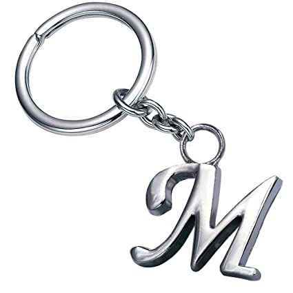 amazon com stylish letter m simple alphabet ring creative packaging
