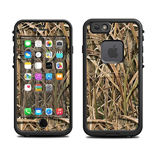 wholesale dealer 5c888 0b70a Skin for Lifeproof iPhone 6 Case (Skins/Decals only) - Swamp Grass Camo,  Field Camo