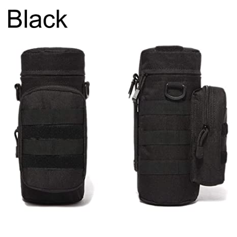 Sport Outdoor Military Tactical Gear Bag Molle Water Bottle Pouch Kettle Pack HD