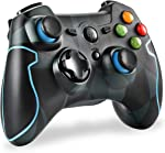 EasySMX 2.4G Wireless Controller for PS3, PC Gamepads with Vibration Fire